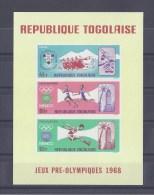 TOGO. Jeux Olympiques Grenoble Et Mexico - Togo (1960-...)