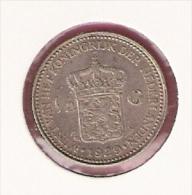 NEDERLAND 1/2 GULDEN 1929 AG - [ 3] 1815-… : Royaume Des Pays-Bas