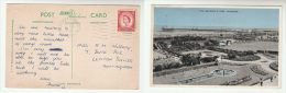 1962 Skegness GB Stamps COVER (postcard SKEGNESS Pier And Gardens) - England