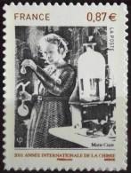 FRANCE 2011 - AUTOADHESIF - Marie Curie  N° 524 - 1 Timbres NEUF** - Parfait état - - France