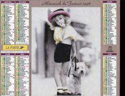 CALENDRIER ALMANACH 1996 - Calendriers