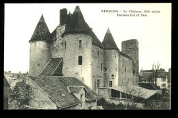 Seine Et Marne 77 Nemours Le Château XIIe Siècle Façades Est Et Sud - Nemours