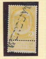 Griffe D´Origine / De Gare Sur Timbre-Poste Armoirie - WENDUYNE -- WW152 - Poststempel