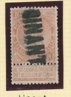 Griffe D´Origine / De Gare Sur Timbre-Poste Fine Barbe - DINANT -- WW154 - Poststempel