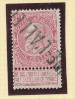Griffe D´Origine / De Gare Sur Timbre-Poste Fine Barbe - BRAINE L' ALLEUD  -- WW157 - Poststempel