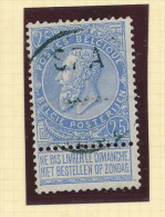 Griffe D´Origine / De Gare Sur Timbre-Poste Fine Barbe - SPA   -- WW165 - Poststempel
