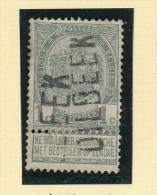Griffe D´Origine / De Gare Sur Timbre-Poste Armoirie - DILBEEK  -- WW167 - Poststempel