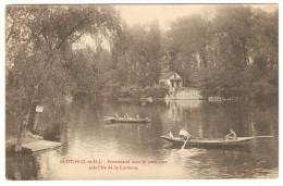 GLOTON   ---  Promenade Dans Le Petit Bras Prés L'Ile De La Lorionne - Mantes La Jolie