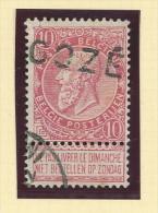 Griffe D´Origine / De Gare Sur Timbre-Poste Fine Barbe - GOZEE  -- WW168 - Poststempel
