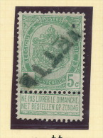 Griffe D´Origine / De Gare Sur Timbre-Poste Armoirie - JETTE  -- WW169 - Poststempel