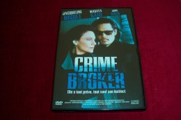 CRIME BROKER  AVEC  JACQUELINE BISSET   ++++ - Policiers