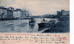Gruss Aus Wien. Donaukanal Mit Ferdinandsbrücke - Saluti Da.../ Gruss Aus...
