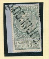 Griffe D´Origine / De Gare Sur Timbre-Poste Fine Barbe - TURNHOUT  -- WW170 - Poststempel