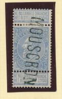 Griffe D´Origine / De Gare Sur Timbre-Poste Fine Barbe  - MOUSCRON  -- WW172 - Poststempel