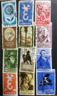 Selection Of 12 Old Used Stamps From Italy No DEL-1232. - Italy