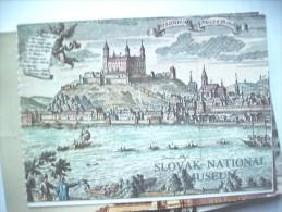 Slovakije Slovensko Slovakia Bratislava Museum - Slowakije