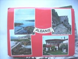 Albanië Albania In Red - Albanië