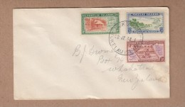 Tokelau FDC 1948 postally used to New Zealand