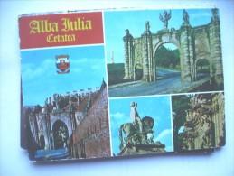 Roemenië Rumenien Romana Alba Julia Cetatea - Roemenië