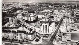 Cpsm  14  Caen , Vue Aerienne Rue St Jean , Cote Rue Du 11 Novembre - Caen