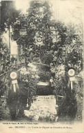 Dept Div- Territoire De Belfort -ref X848 - Belfort - La Tombe De Pegoud Au Cimetiere De Brasse -carte Bon Etat - - Belfort - Ville