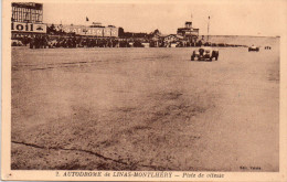Cpsm ( Genre Cpa ) 91 Linas-monthlery , L'autodrome..la Piste De Vitesse - Autres Communes