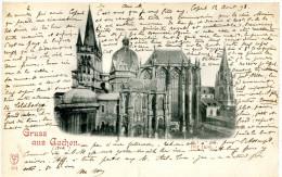 Gruss Aus Aachen (1898) - Saluti Da.../ Gruss Aus...