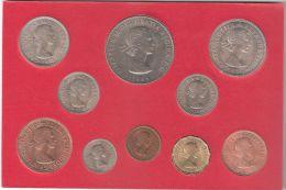 B 078094) FAREWELL INGHILTERRA TO THE £.S.D. SYSTEM 10 MONETE FDC UNC - Gran Bretagna
