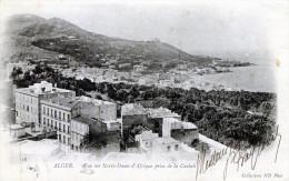 Alger. Vue sur Notre-Dame d'Afrique prise de la Casbah