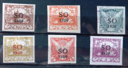 Selection Of 6 Old Used 1920 Stamps From Poland No DEL-1162. - Unclassified
