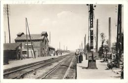 - 62 - LIBERCOURT - Vues Sur La Gare Et Les Quai, Après Reconstruction. - France