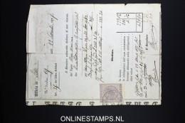 Italy: Marca Da Bollo / Document 1877 - Fiscales