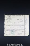 Italy: Marca Da Bollo / Document 1877 - Fiscaux