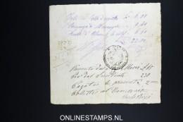 Italy: Marca Da Bollo / Document 1877 - 1861-78 Victor Emmanuel II.