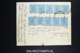 Italy: Marca Da Bollo On Document 1879 - Steuermarken