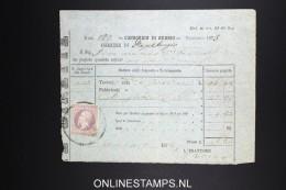Italy: Marca Da Bollo On Document 1874 - Fiscaux