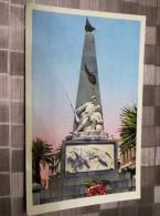 CPA ALGERIE---BONE---LE MONUMENT AUX MORTS FM POSTE AUX ARMEES  1956