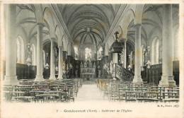 GONDECOURT - INTERIEUR DE L'EGLISE - Sin Clasificación