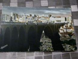 constantine alg�rie la ville et le pont sidi- rached  edition jomone