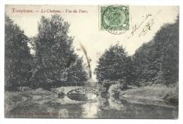 CPA - TEMPLEUVE - Le Château - Vue Du Parc  // - Tournai