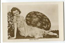 Cinema Photographers - FOX (signed Autrey) -  Janet Gaynor - Illustrateurs & Photographes