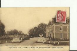 FR1924    ---   LE PETIT CHENE   ( Deux - Sevres ), Pres  MAZIERES EN GATINE   --    ENTREE PRINCIPALE - Mazieres En Gatine