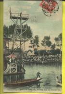 AMIENS SPORT NAUTIQUE PLONGON DE 17 M  PAR  VAISSADE MONTE SUR SA BICYCLETTE - Kunst- Und Turmspringen