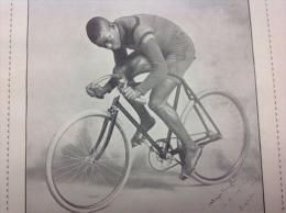 """1898 MAYOR TAYLOR LE """" PRODIGE NOIR """" - CHASSE A COURRE - POLO A BICYCLETTE - TRAVERS�E DES ALPES - SPORT A ROUBAIX"""