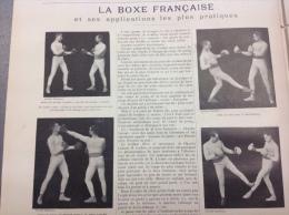 1898 LA BOXE FRAN�AISE ET SES APPLICATIONS - LES CHATS - ESCRIMES - LES TIRS A L�ARC PISTOLET REVOLVER - PRIX ROOSEVELT
