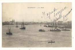 Cp, 33, Bordeaux, La Rade,  Voyagée 1905 - Bordeaux