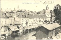 Cp, 18, Vierzon, Les Lavoirs, écrite - Vierzon