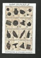 1996- Libya - International Day Of Maghreb Handicrafts- Complete Set MNH** - Libia
