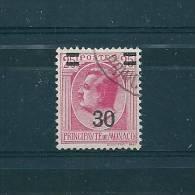 Monaco Timbre De 1936/31  N°104 Oblitéré - Monaco