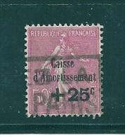 France Caisse D´amortissement De 1929  N°254  Oblitere Cote 30€ - Caisse D'Amortissement